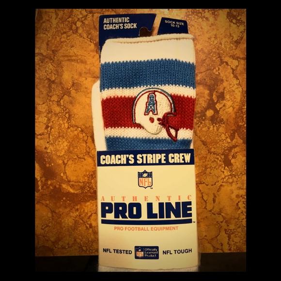 get cheap c0987 9439e Authentic Houston Oilers Coach's Socks